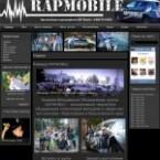 Сайт для команды Rapmobile г.Красноярска