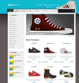 Дизайн для интернет магазина спортивной обуви